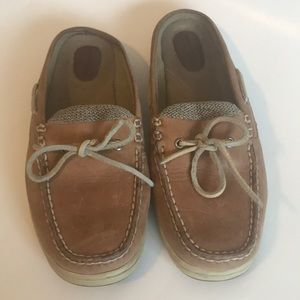 Sperry Top Sider Leather Slide Mules
